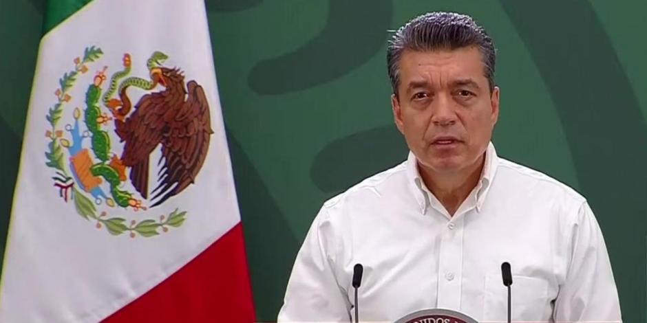 Rutillo Escandón Cadenas , gobernador de Chiapas