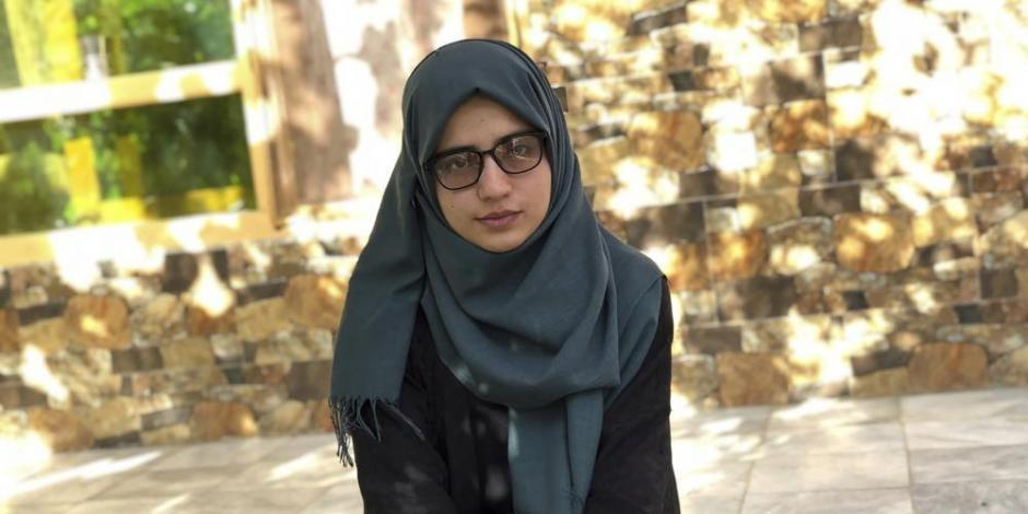 Estudiante de Afganistán
