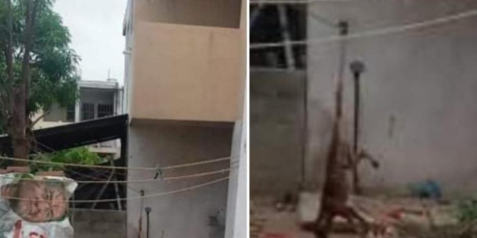 Mujer cuelga perro de la cola y lo golpea como castigo por matar una gallina