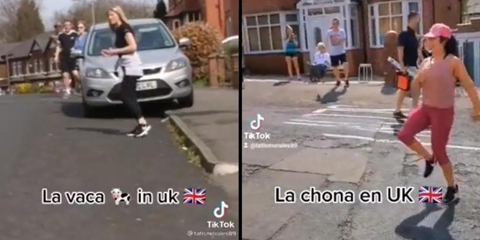 Los vecinos de esta mexicana, en Inglaterra, no se resisten al ritmo de 'La Chona'