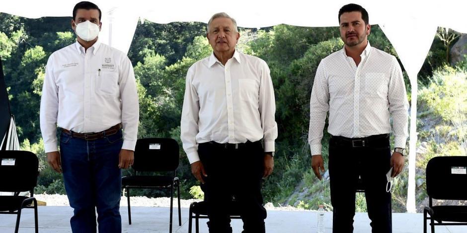 Antonio Echevarría García y Andrés Manuel López Obrador