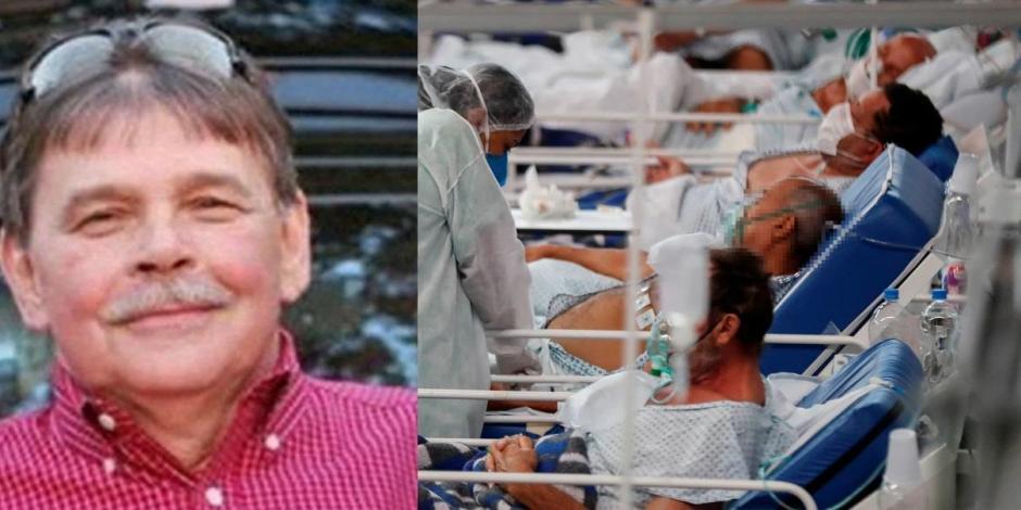 El señor de 74 años de edad no pudo recibir atención rápido, pues los hospitales estaban llenos de pacientes con COVID-19