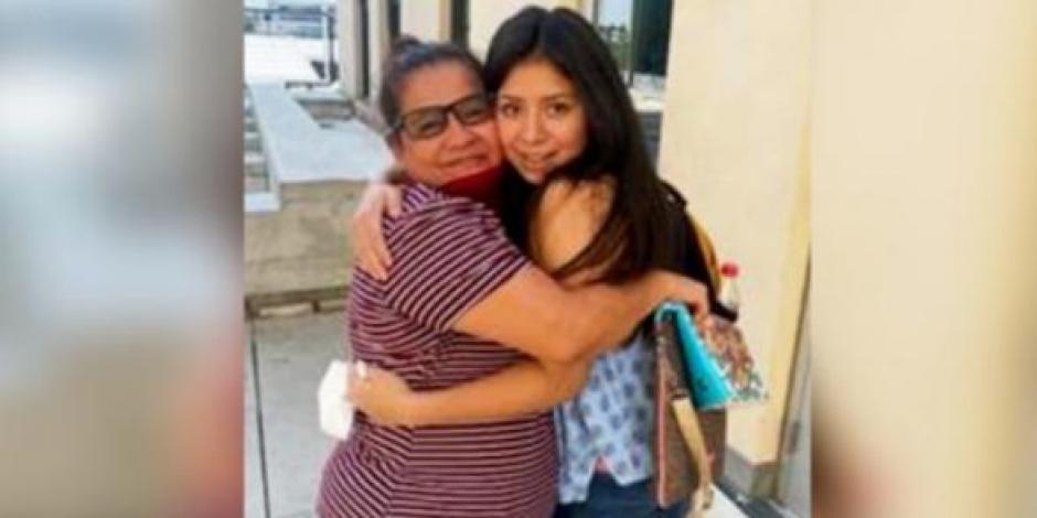 Una madre y su hija se reencontraron después de 14 años