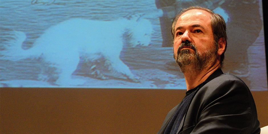 El autor, en 2017, en el Museo Nacional de Antropología.