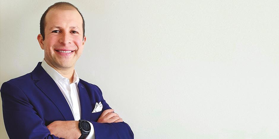 Ricardo Olmos,  coun-try manager  de Ualá, en una imagen de archivo.