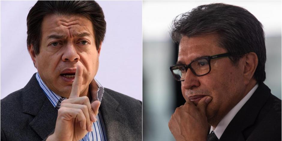 Mario Delgado vs Ricardo Monreal