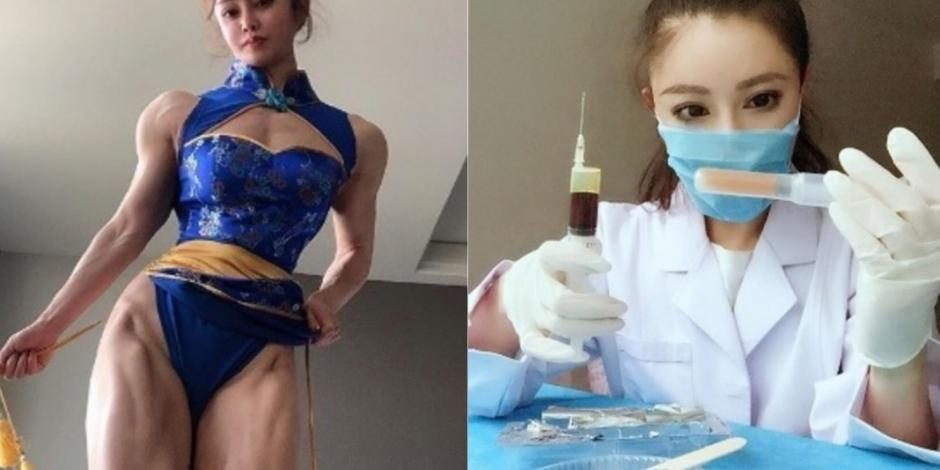 Ella es la cosplayer que dejó los disfraces para luchar contra coronavirus (FOTOS)