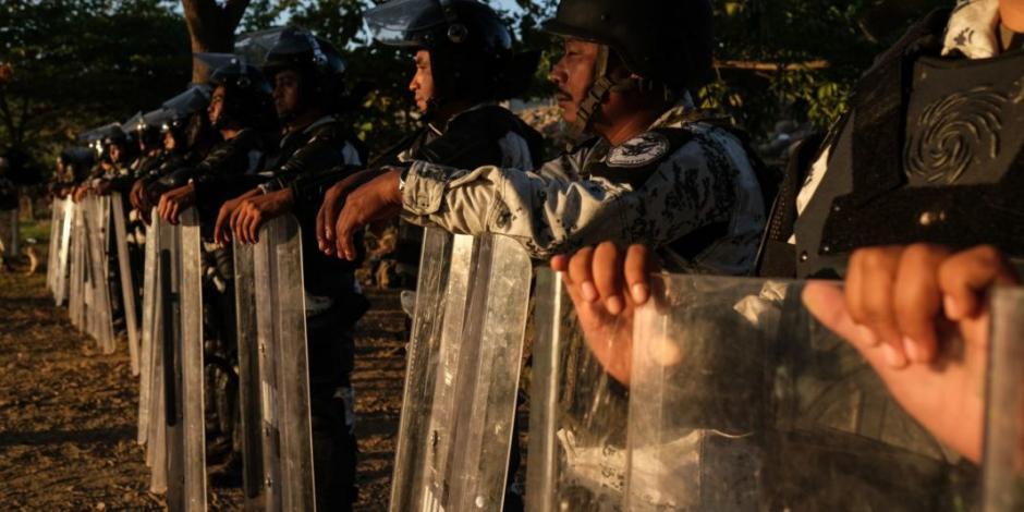 Agradece EU a México acciones para frenar caravana migrante