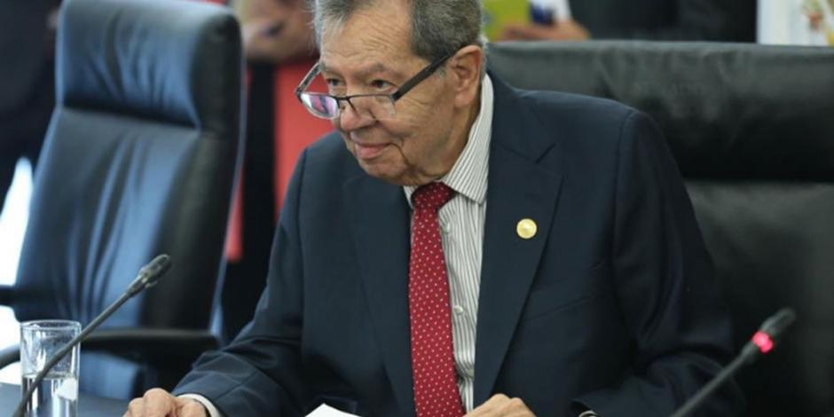 Muñoz Ledo se queda en Morena: dará