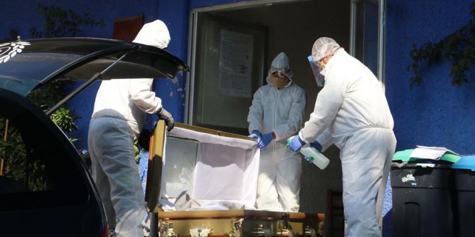 México sufre día más letal en pandemia de COVID-19: 236 muertos en 24 hrs