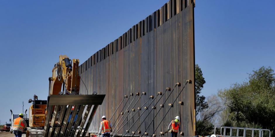 Trump prepara desvío de otros 7.2 mmdd del Pentágono para su muro