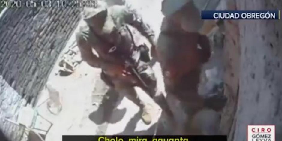 '¿Mil pesos?, ni que fuera policía': captan extorsión de Guardias Nacionales