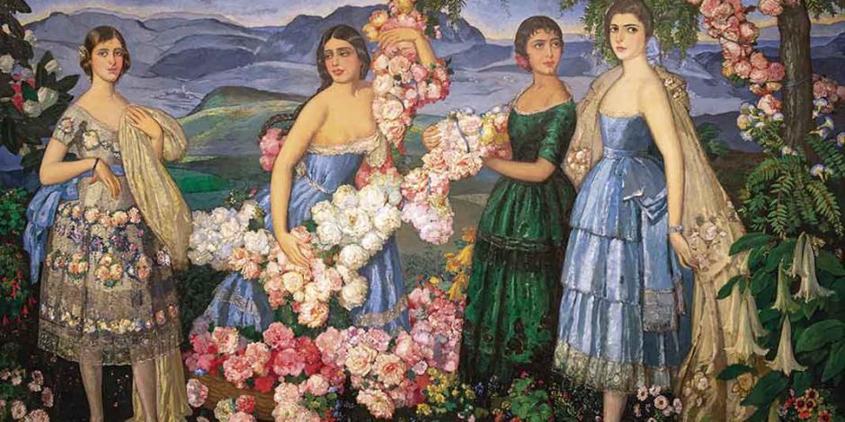 Museo de Dallas expone la última obra que Ramos Martínez creó en México