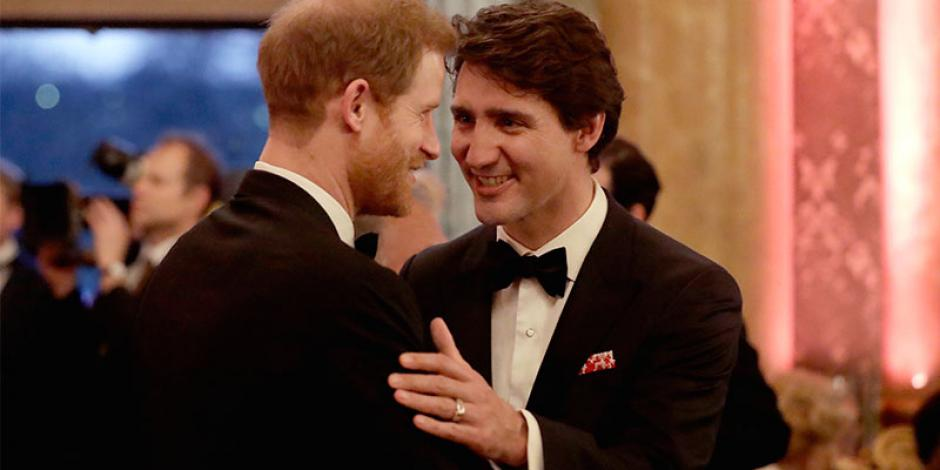 Trudeau ofrece millonaria cifra para seguridad del príncipe Harry y Meghan