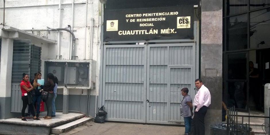 Confirman contagio de 5 personas por COVID-19 en penal de Cuautitlán, Edomex