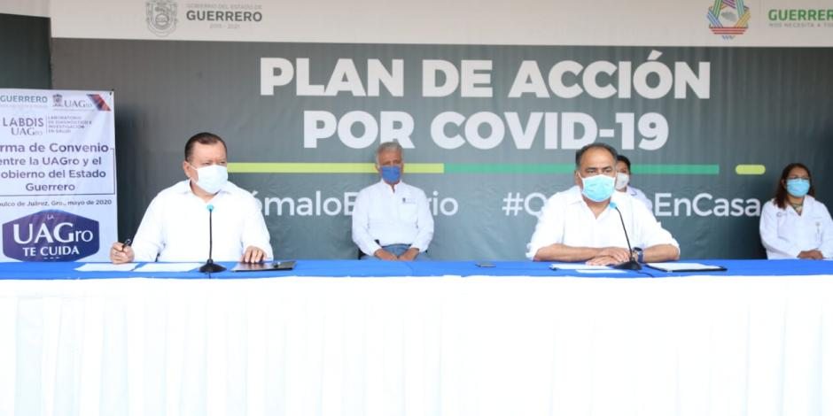 Convenio con UAGro amplía capacidad de Guerrero para hacer pruebas COVID-19