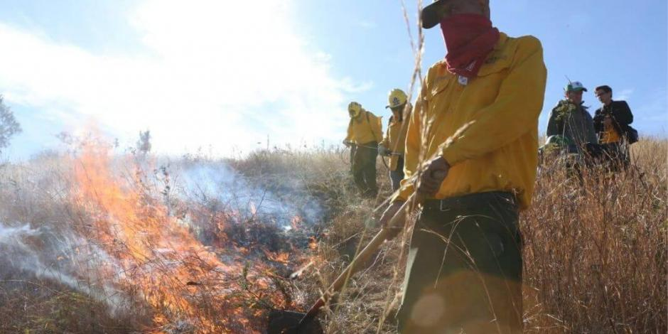 Inicia Michoacán campaña de combate a incendios forestales