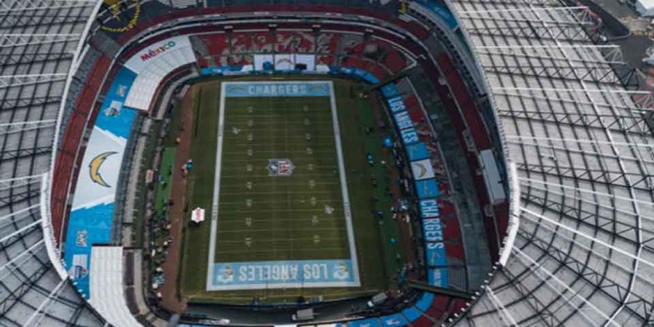 NFL anuncia juegos en el Estadio Azteca para los próximos dos años