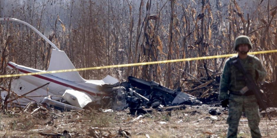 Dictaminan falla mecánica y de mantenimiento en accidente de Alonso y Moreno Valle; PAN rechaza informe