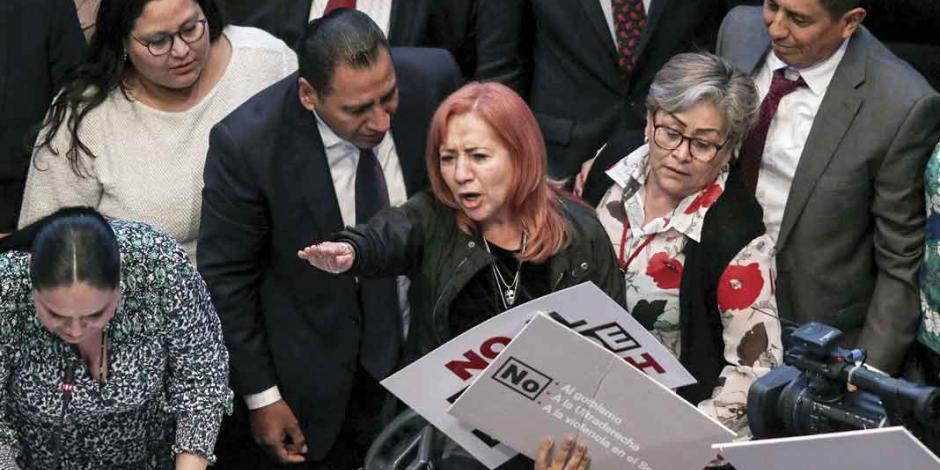 Tribunal admite amparo contra la elección de Rosario Piedra