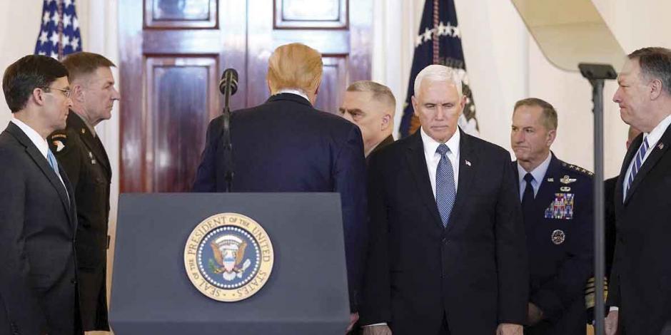 EU congela intención bélica con Irán; dice estar listo para la paz