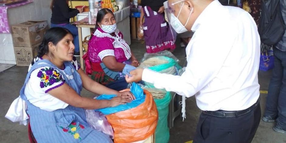Pueblos de Oaxaca dicen no a reactivarse