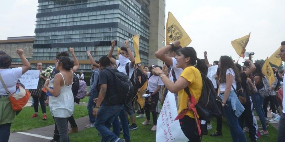 Alista Policía capitalina operativo por marcha de alumnos de la UNAM