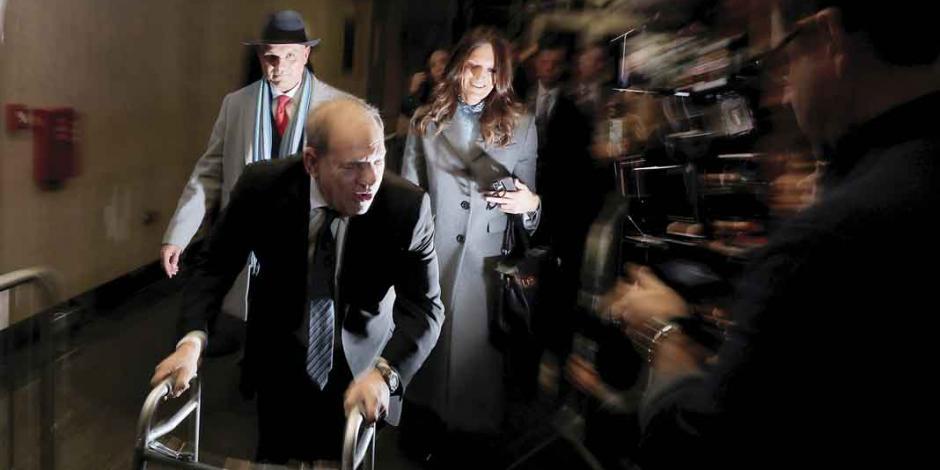 Fiscal califica a Harvey Weinstein como