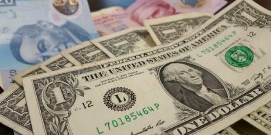 Peso gana 1.31% por recorte petrolero; dólar interbancario cotiza en $23.69 por unidad
