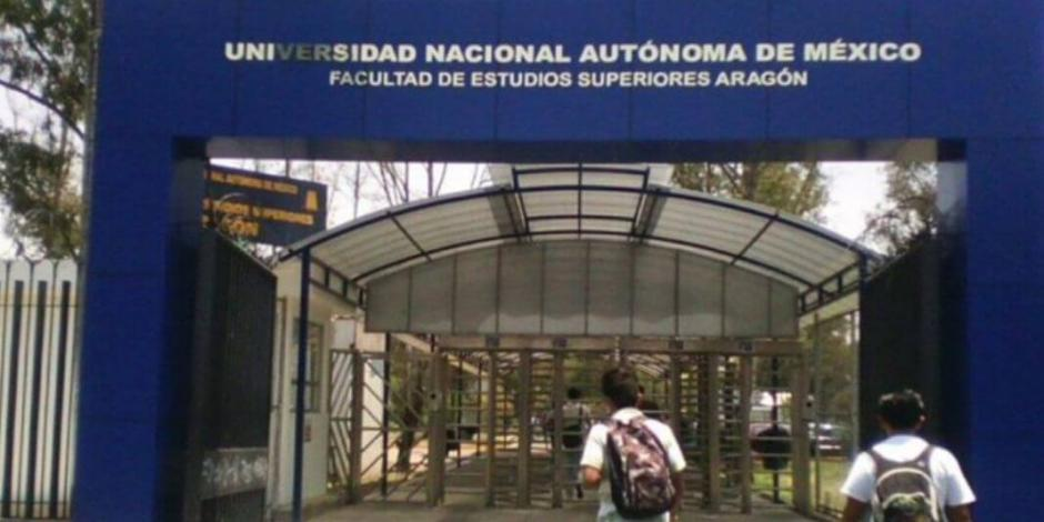 FES Aragón expulsa a alumno por amenaza de bomba