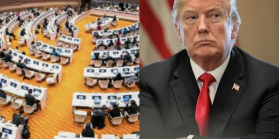 Países cierren filas para defender a la OMS de amenazas de Trump