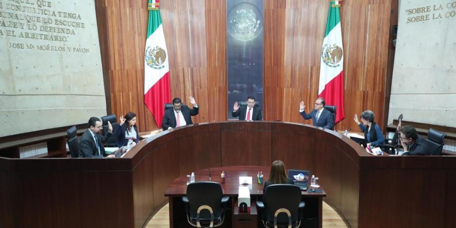 Cancela Tribunal Electoral discusión para definir presidencia de Morena