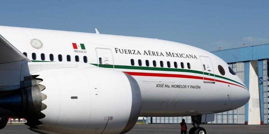 Así está planeada la rifa del avión presidencial
