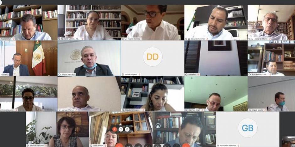 Fallas técnicas impiden que la Comisión Permanente sesione de forma virtual