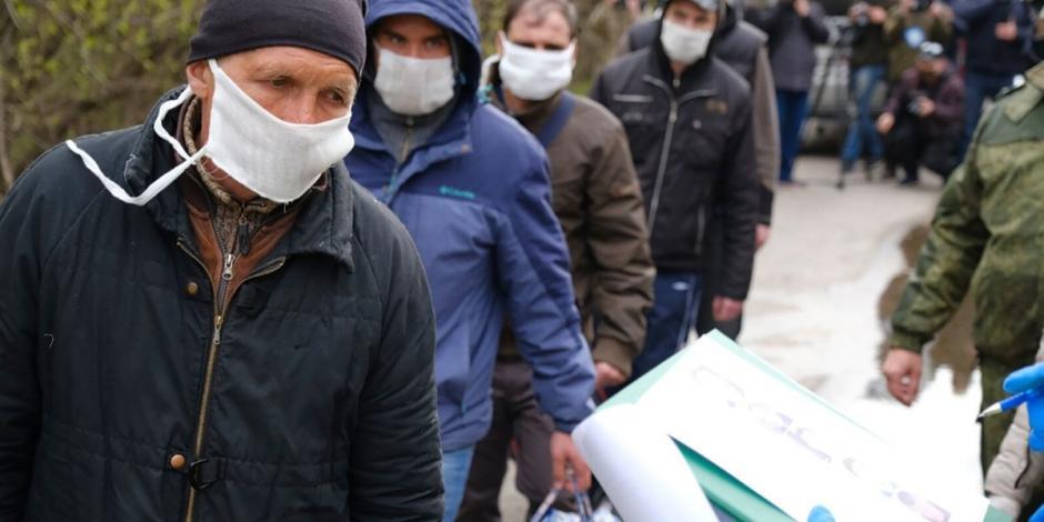 Registra Rusia más de 10 mil contagios por COVID-19 en un día