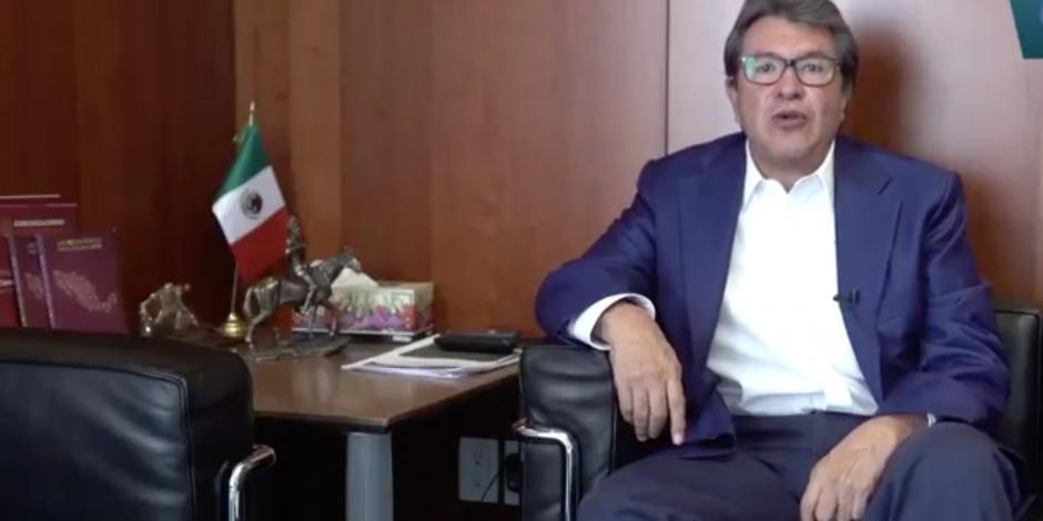 """""""Decreto limita a Ejército, no da más facultades"""": Monreal"""