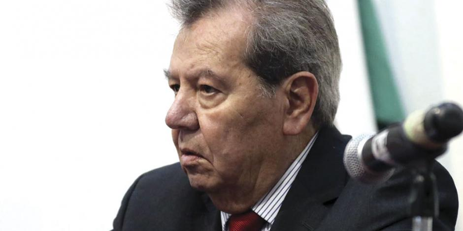 "Ve Muñoz Ledo ""línea"" en aval al titular del INM"