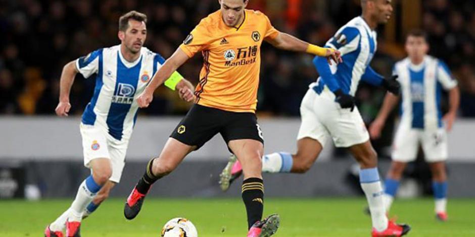 Jiménez colabora con asistencia en goleada de Wolves ante Espanyol (VIDEO)