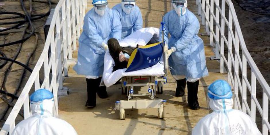 Aumentan a mil 669 los muertos por coronavirus en China