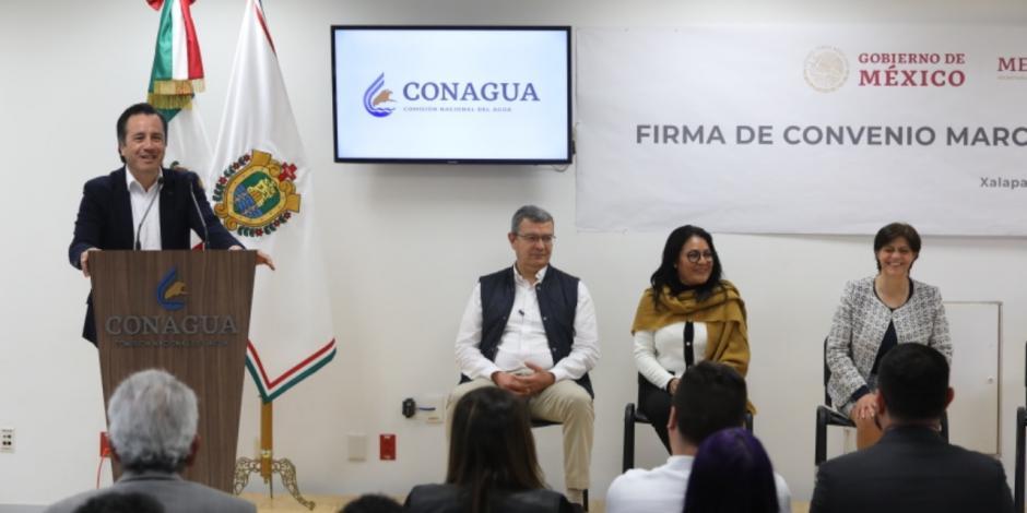 Convenio Conagua-Veracruz permitirá inversión para fortalecer infraestructura