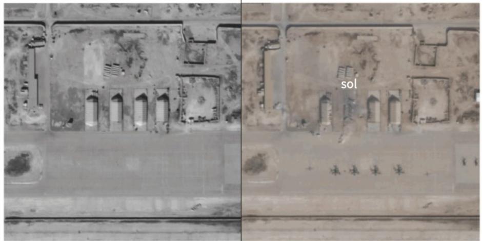 Así se ve la destrucción de misiles iraníes en Irak contra EU (FOTOS)