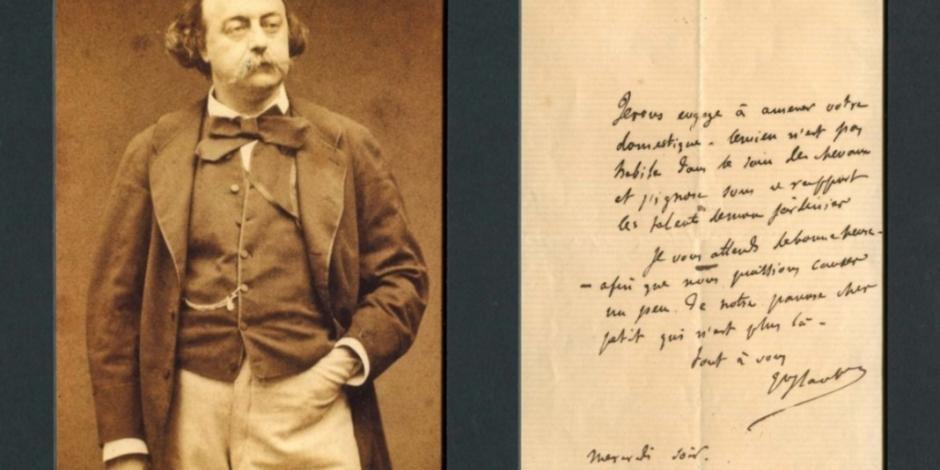 Flaubert, 140 años sin el escritor de Madame Bovary