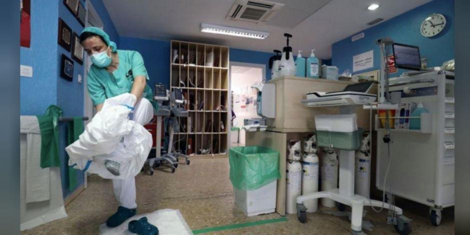 Registra España 549 casos nuevos y 138 muertes por COVID-19