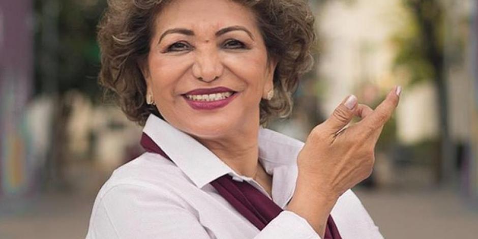 Adela Roman recibe  autorización del Congreso de Guerrero para viajar a Abu Dabi