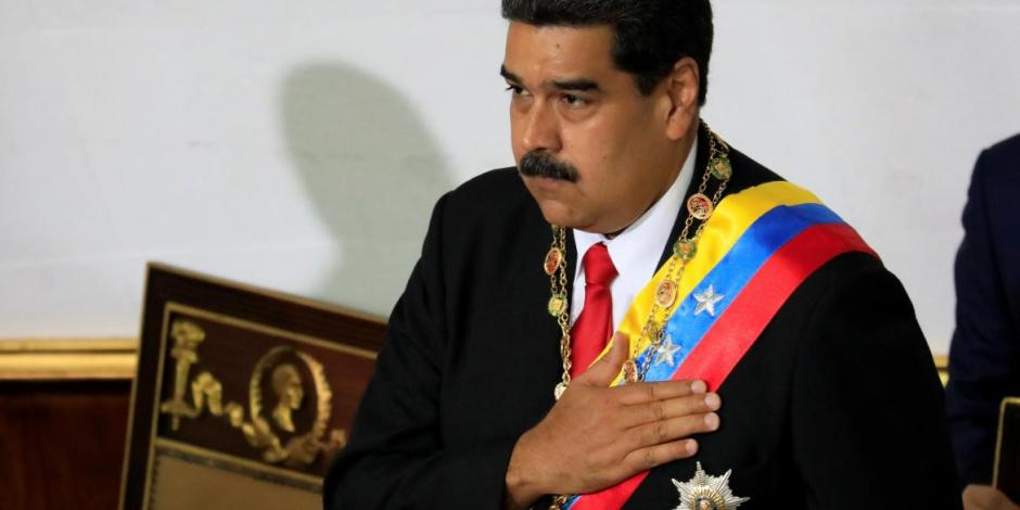"""El objetivo central era matar al presidente"", asegura Maduro tras presunto atentado"