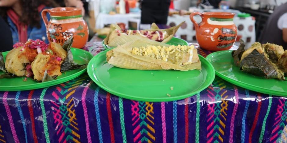 Exóticos y tradicionales tamales llegan a Iztapalapa y Coyoacán