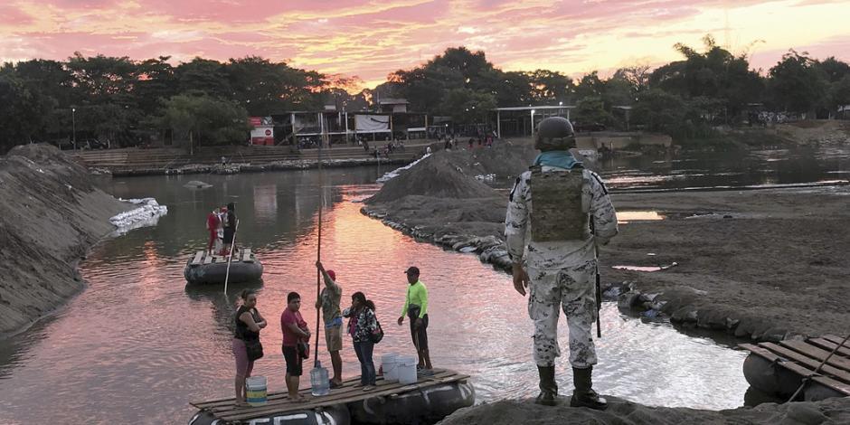 Alista caravana entrada por Chiapas; prevén que se fraccione