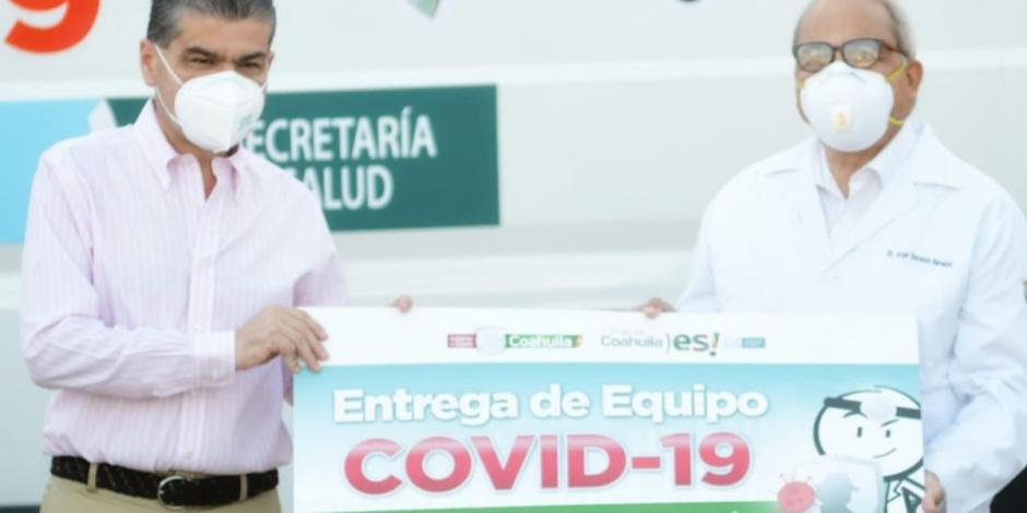 Refuerzan Hospital de Torreón con equipo médico