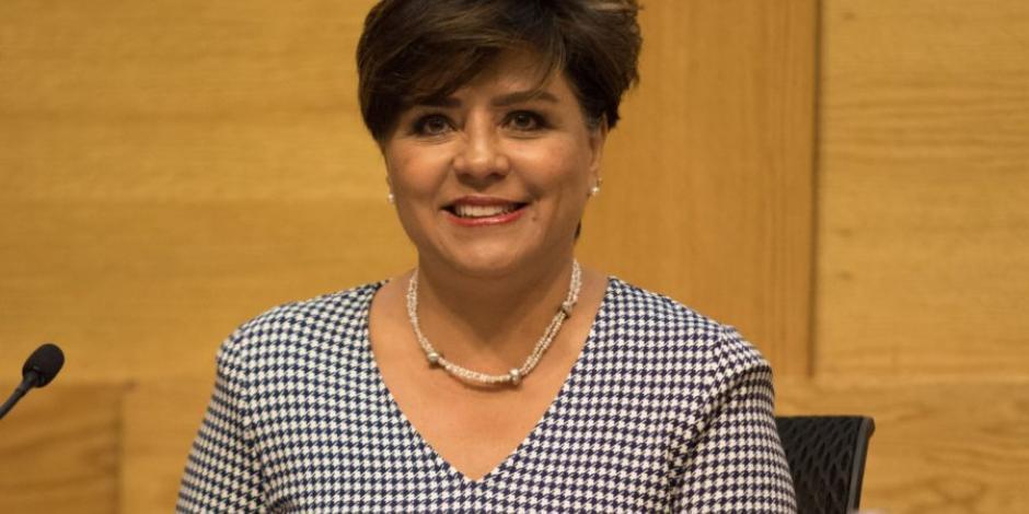 Irene Espinosa, primera subgobernadora de Banxico, se suma a #UnDíaSinMujeres