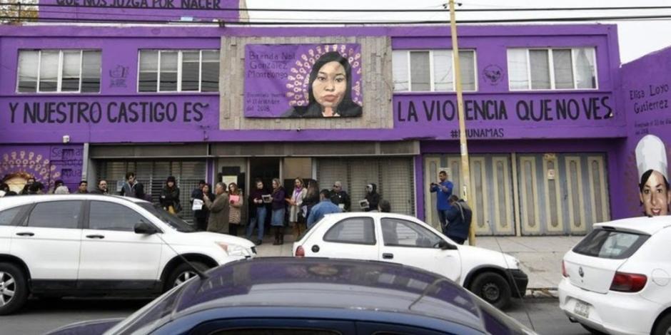 Buscan eliminar sanciones por Mural Morado de Saltillo